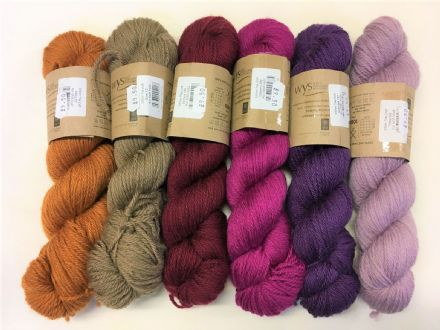 Croft Colours Aran wool